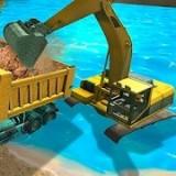機械和挖掘機模擬器
