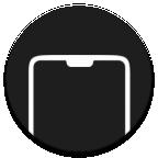 ScreenDecor帶殼截圖