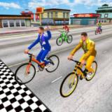 炫酷自信車賽車手3D